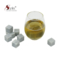 Reusable ice cubes for drink soapstone whiskey stones dice shape for bar