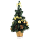 Decorated Artificial Plastic Mini Table Top Christmas Tree