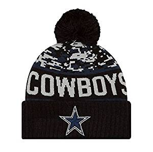 43f5749f2522b Get Quotations · Dallas Cowboys New Era Winter Freeze Knit Hat