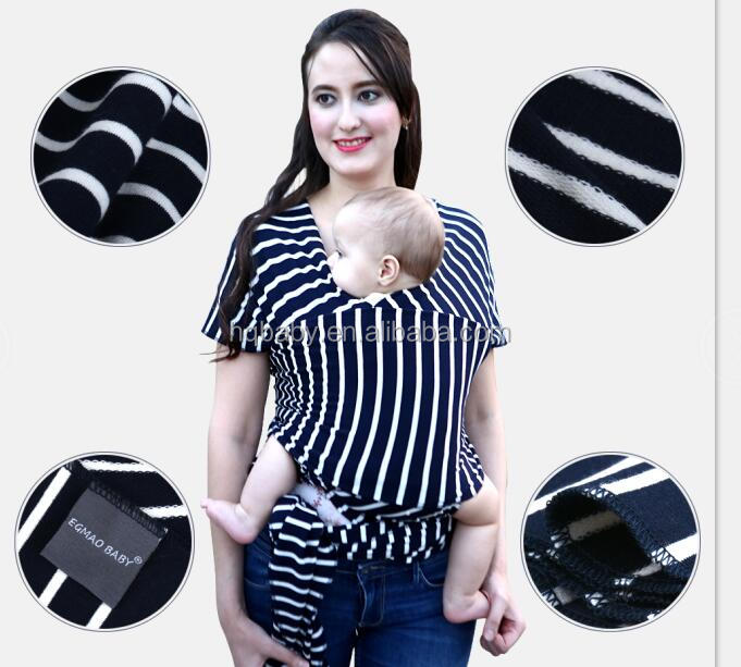 Breathable And Wearable Baby Muslin Wraps Infant Baby Wrap With Low