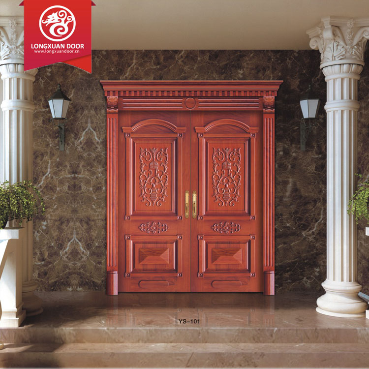 Indien double porte principale out door mian porte d 39 entr e portes id de produit 60361910268 - Outs openluchthuis entree ...