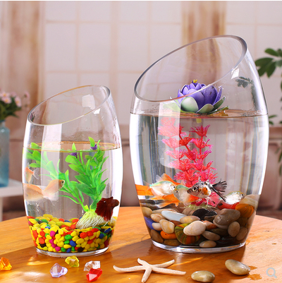 Fashionable home deco aquarium <strong>fish</strong> &amp; <strong>fish</strong> tank aquarium with bevel connection design