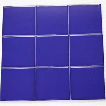 Subway Ceramic Tiles 100 100mm Dark Blue Tile Manufacturer