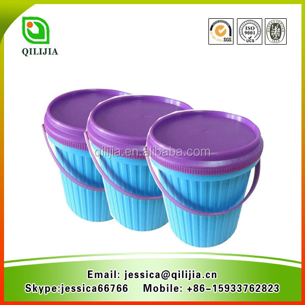 High Concentrated Washing Powder Packed In Buckets