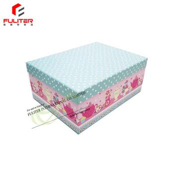 Decorative Cardboard 11x11 Storage Box With Lids Wholesale