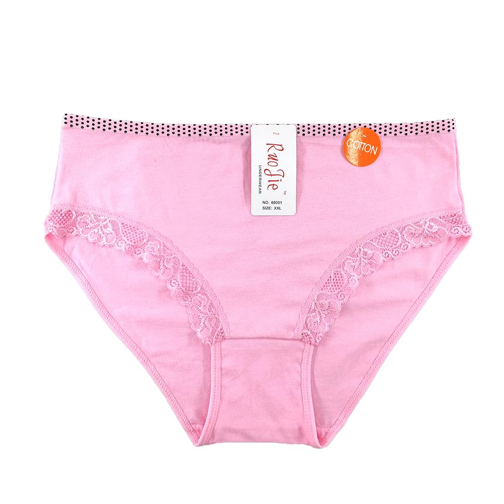 จีนขาย 12 pcs บรรจุสูงสวมใส่ทุกวัน plus ขนาดชุดชั้นในผ้าฝ้ายชุดชั้นใน