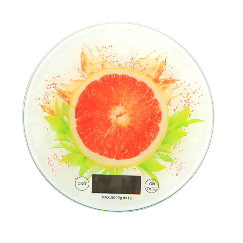 Slim 5kg 3kg Touch Button electronic digital kitchen scale