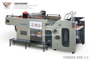 Ce Automatic Ceramic Decal Silk Screen Printing Machine Fb