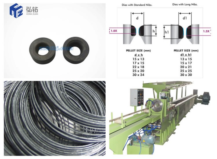 Cemented carbide Wire drawing dies deep drawing mould