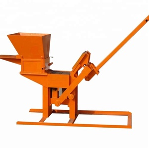 manual operated concrete cement block making machine, manual block and brick making machines