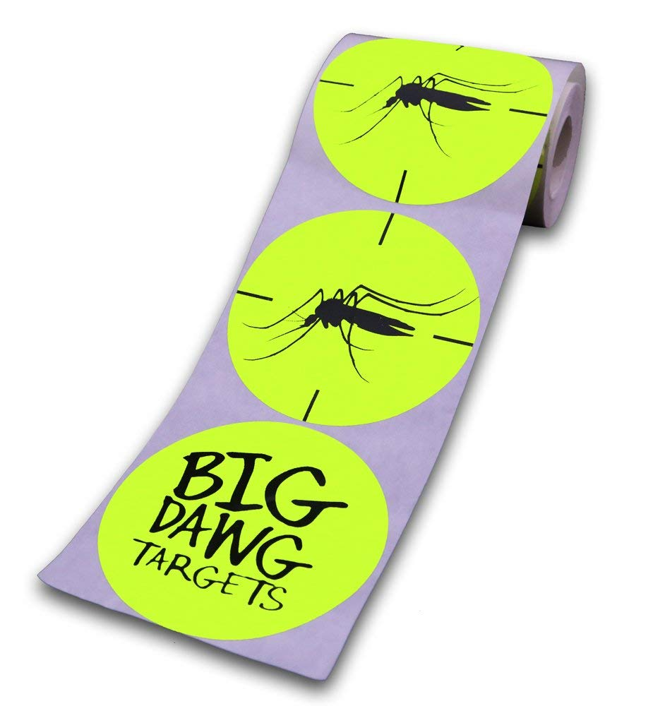 Big Dawg Targets 250 Target Roll Florescent 3 Inch Adhesive Shooting Target Stickers
