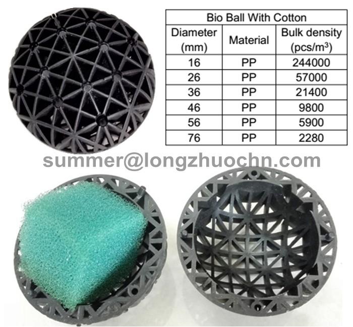 48mm Biological Bio Balls,Aquarium Tank Filter