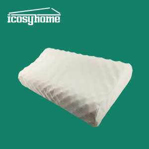 Good air permeability 100% natural latex comfort pillow