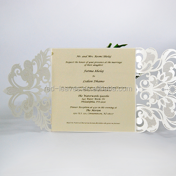 Wedding Anniversary Gifts Delivery In Kerala : ... Leaves Hot sale Kerala fancy Wedding Cards classic fancy wedding cards