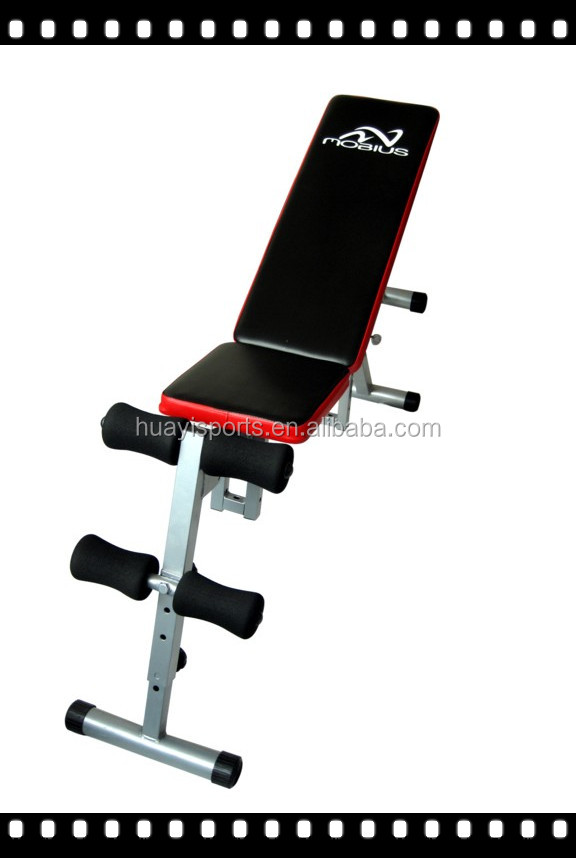 RED CHEAP SIT UP WEIGHT BENCH FOR OEM