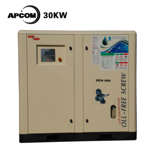 30kw 37kw oil free air compressor Water lubricated oil-free air compressor