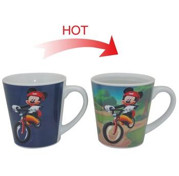 Sensible Tasse Tasse sensible Buy Café Tasse En Céramique Mouse De Chaleur changement Mickey Couleur La À odBexC