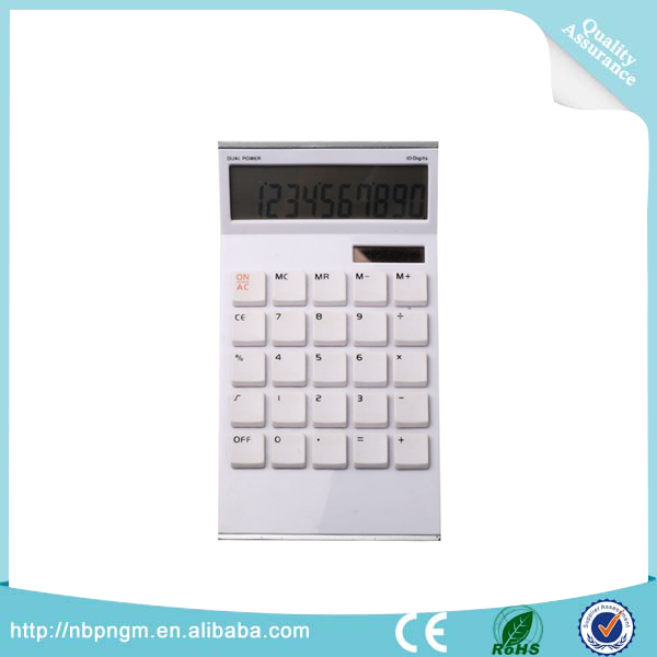 Professional Office Business Style 10-digit Desktop Calculator LCD Display Calculator Wholesale