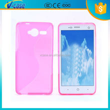Factory price!! wholesale soft tpu case for zte blade vec 4g