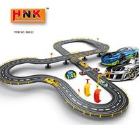 New high quality DIY train set 480cm magic 1:43 PP slot racing car toy track