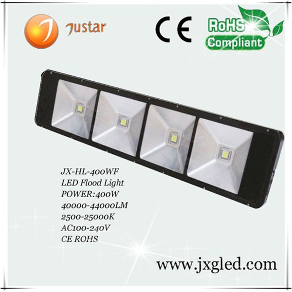 400w led tunnel flood light high intensity with Bridgelux or Epistar chip led and Meanwell driver