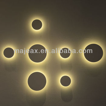 Elegant Modern CE, RoHS,UL Approved Led Wall Art Lighting