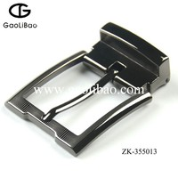 Fashion metal belt buckle with pin clip for men metal apparel accessories ZK-355013
