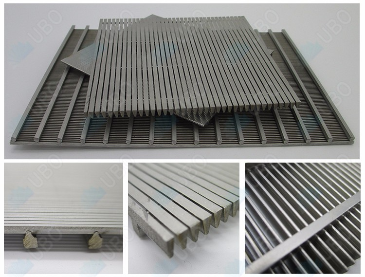 Stainless Steel 316 V-wire Slot well Screen Panel