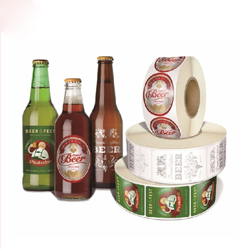 picture about Printable Beer Bottle Labels identified as Paper Roll Print Label Oem Wholesale Printing Particular Beer Sticker For Beer Bottle Labels With Gloss And Matt Lamination - Purchase Paper Label For Beer