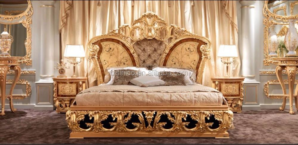 Golden furniture queen anne bedroom set luxury wood - Sofas en vitoria ...
