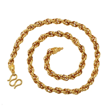 xuping popular fashion jewelry plating 24 k new necklace, best-selling men cheap chain