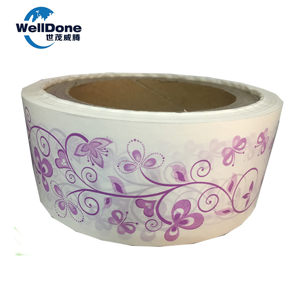 Hot sale silicone coated release paper for sanitary napkin