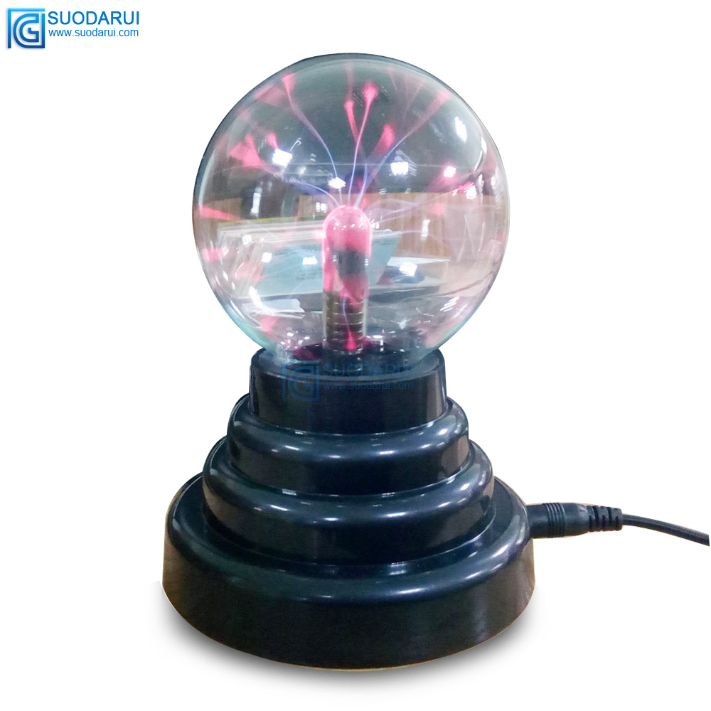 3inch USB Plasma Ball Sphere Light Magic Crystal Lamp static electricity Touch Sensitive negative ion Magic light