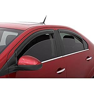 Window Visor Sun Rain Guards Fit For 1998-2002 Toyota Corolla Chevy Prizm 4PC
