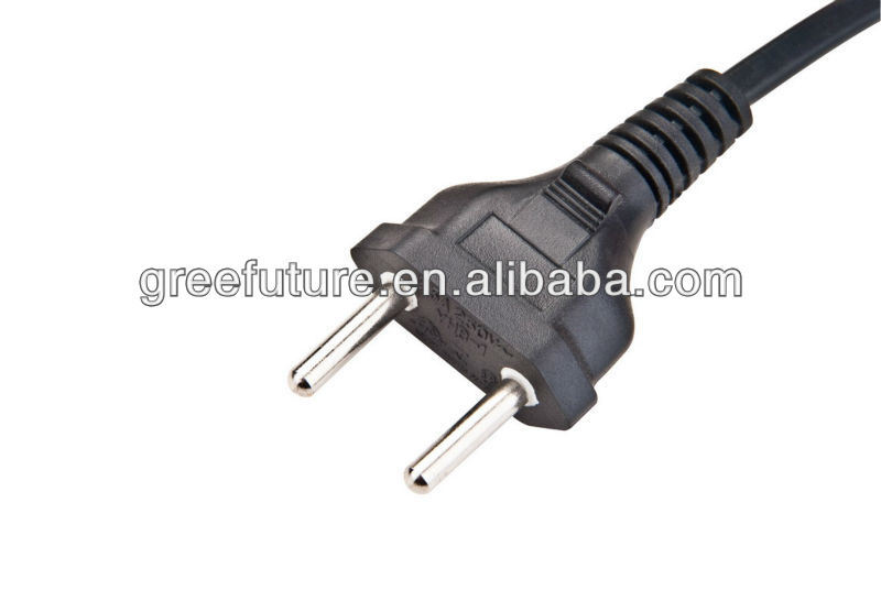 Brazil electrical power cord with plug