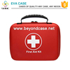 Car emergency safety kit with first aid products