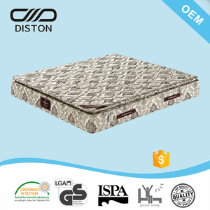 Exporting to Asia market floral damask fireproof fabric bed mattress