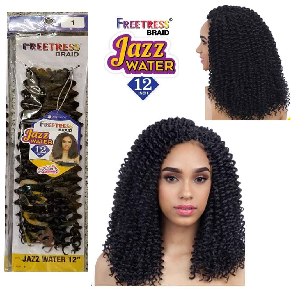 freetress beach curl crochet hair