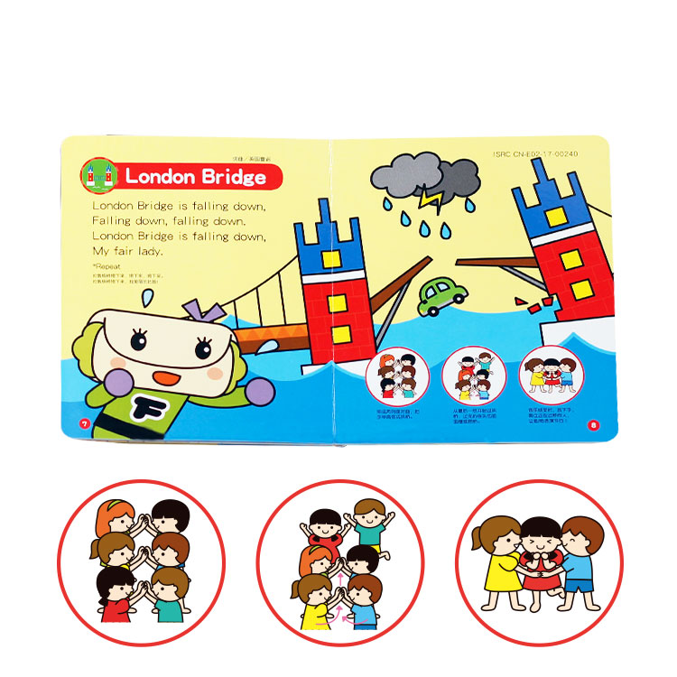 2019 new popular kids talking book sound book with smart watch