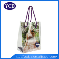 Cheap supermarket reusable folding shopping bag