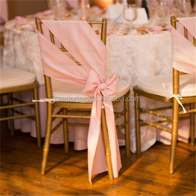 Satin Royal Elegant Graceful Banquet Use Chair Sash Brocade Event Design Nashville Weddings Avenue Pink Downtown Nashville Recep