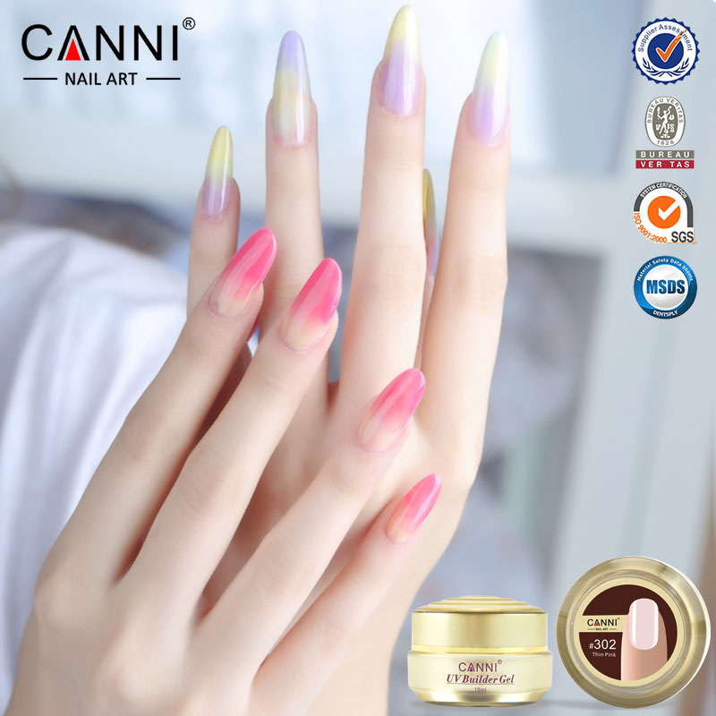 50951J CANNI brand 25 color 15ml gel camouflage cover jelly color uv ...