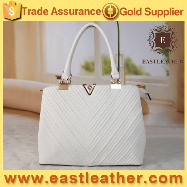 CS017 Famous brand leather bag hand made newest popular design PU women bag