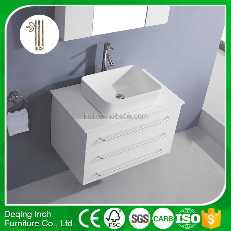 New Fashional soft close wooden bathroom cabinet