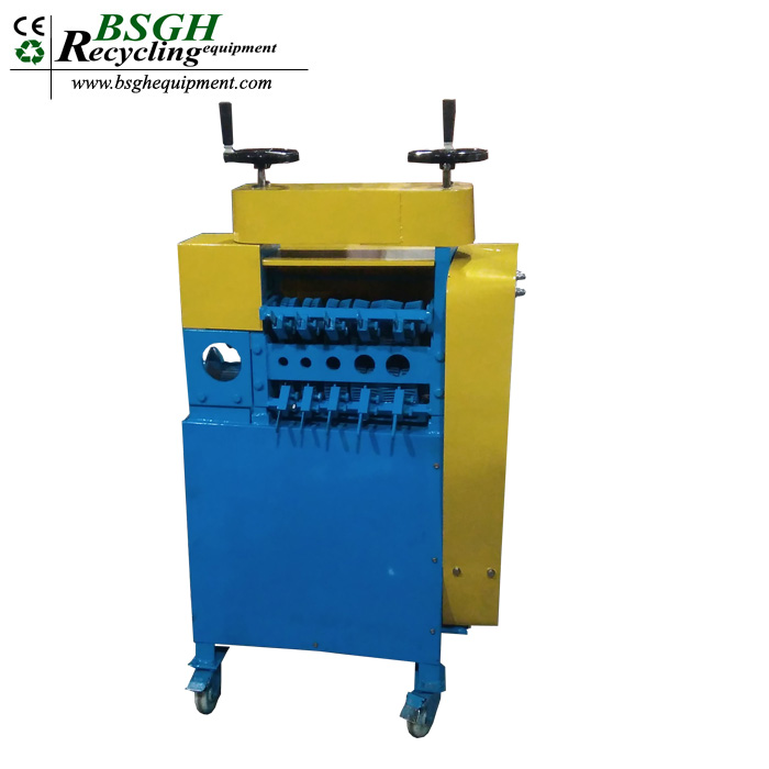 used wire stripping machine BSGH recycling equipment scrap cable stripper machine bx wire stripper machine electric