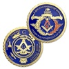 Most popular Masonic accessories gift metal coins
