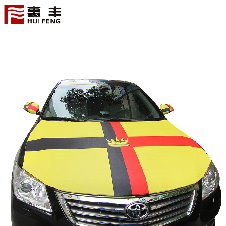 World Flag Print Car Engine Hood Worldcup Flag Cover