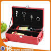 storage prefect 2 bottles picnic time insulated hard pu leather with cardboard beer champagne wine opener gift set carry case