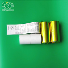 80*65mm thermal paper for printer machine black image 5 rolls per shrink 50rolls per box