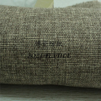 100 Polyester Faux Linen Fabric For Sofa Buy Polyester
